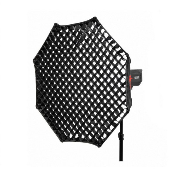 37 Octagon Honeycomb Grid Softbox With Flash Mounting For: Octagon Softbox 120cm With Grid Honeycomb